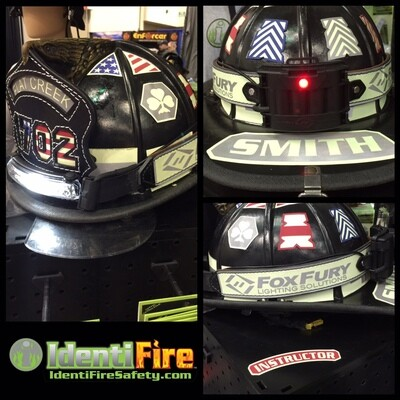 IdentiFire Gen 2 Helmet Band w/ FoxFury Light