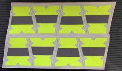 IdentiFire® Gen 2 Neon Yellow Tets
