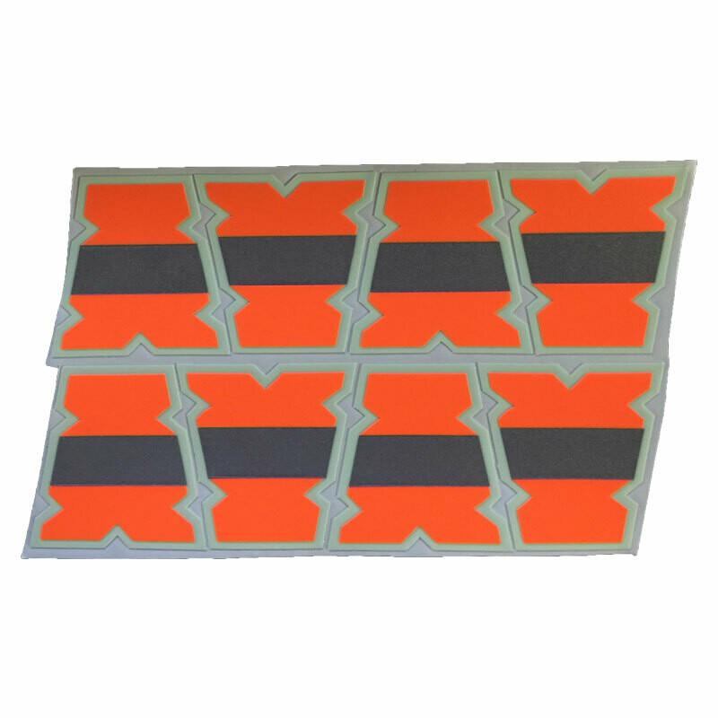 IdentiFire® Gen 2 Safety Orange Helmet Tets