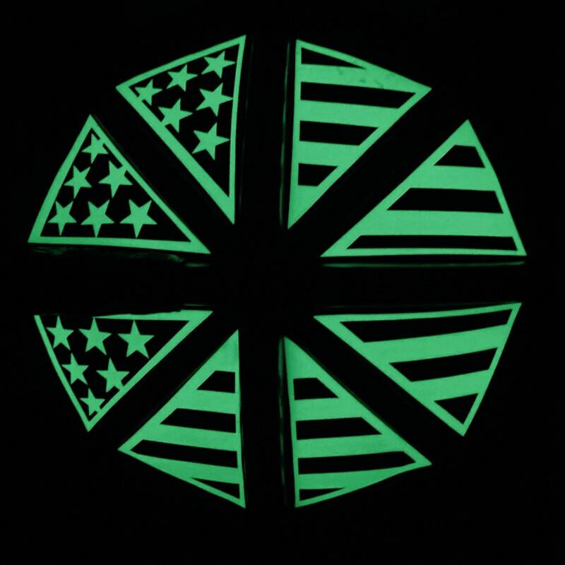IdentiFire® Gen 2 American Flag (Crown of Helmet) Decals