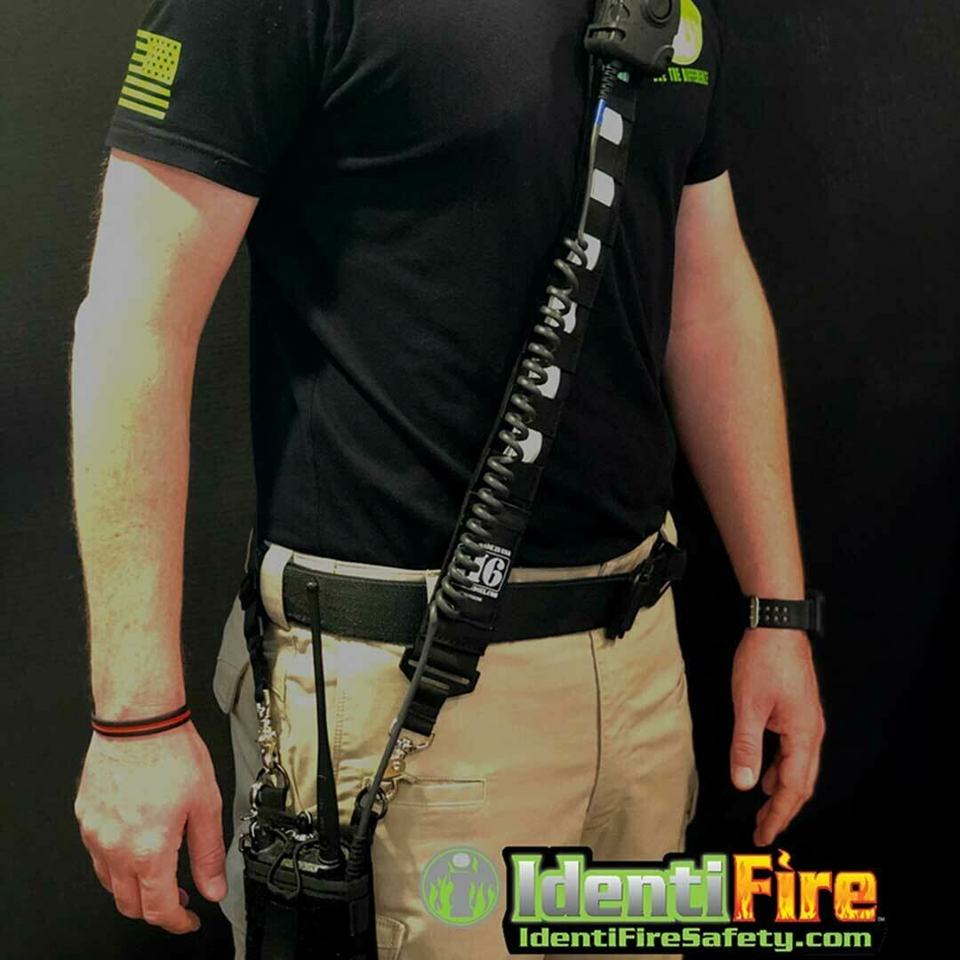 Homeland Six Tactical Radio Strap Combo Featuring IdentiFire Glow