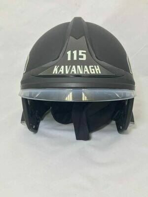 MSA XF1 Front Shield (Decal)