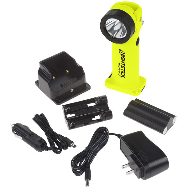 INTRANT® Intrinsically Safe Rechargeable Dual-Light™ Angle Light