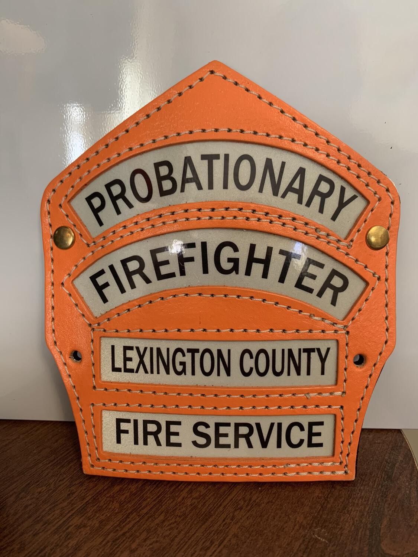 LCFS Probie Shield (LCFS Personnel Only)