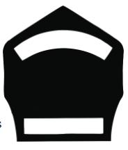 "6"" Two Panel Shield"