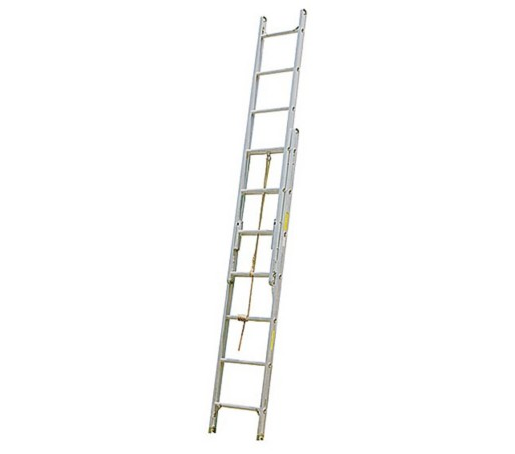 Alco-Lite 2-Section Aluminum Extension Ladder, Pumper Style