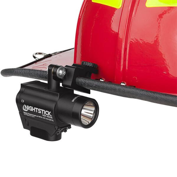 Helmet-Mounted Multi-Function Dual-Light™ Flashlight
