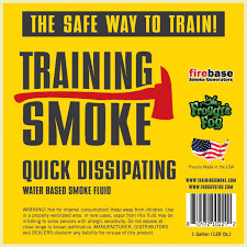 Training Smoke Fire Rescue Fog