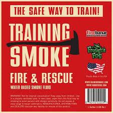 Training Smoke Fire Rescue Fog