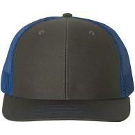 Patch Hat - Charcoal/Blue