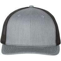 Fitted Patch Hat - Heather Grey/Black