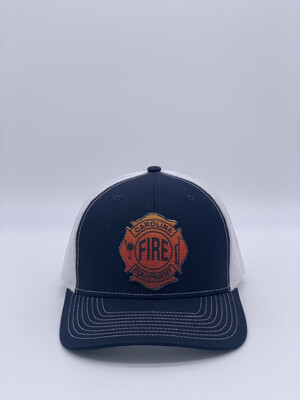 Patch Hat - Navy/White