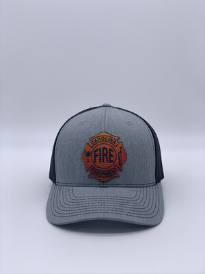 Patch Hat - Heather Gray/Black