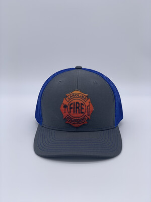 Patch Hat - Heather Gray/Royal