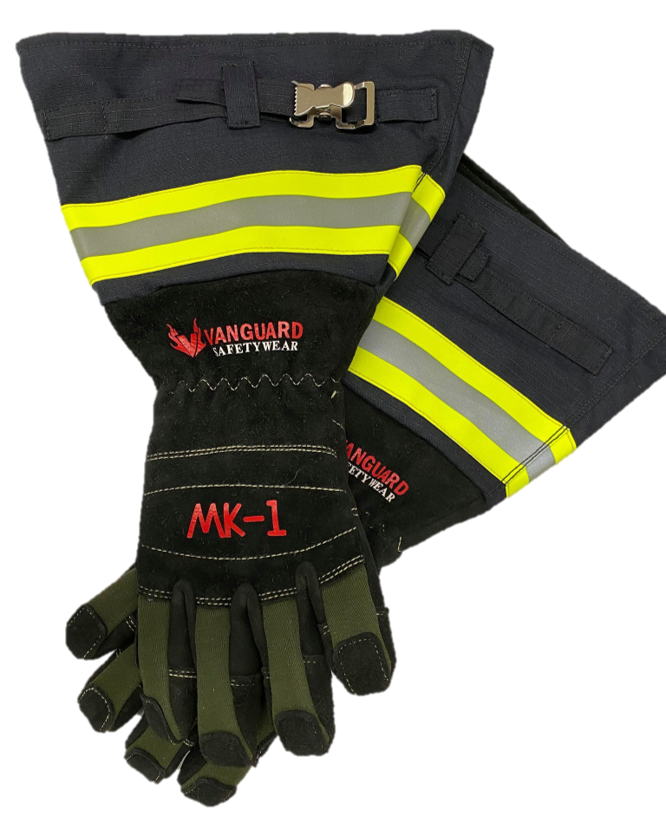 Vanguard Mk-1 Structural Hybrid Instructor Firefighting Gloves (Texas Long Cuff)