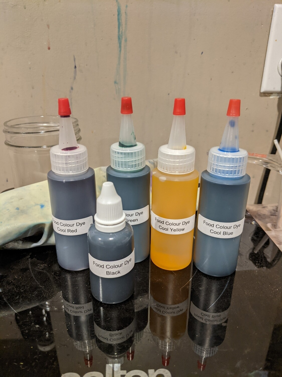 Dye Class - Dyeing in the Kitchen; using food safe dyes to create fabulous colours