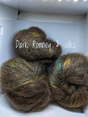 Hand carded natural fibre batts