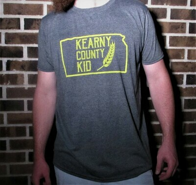 Kearny County Kid - Grey Shirt