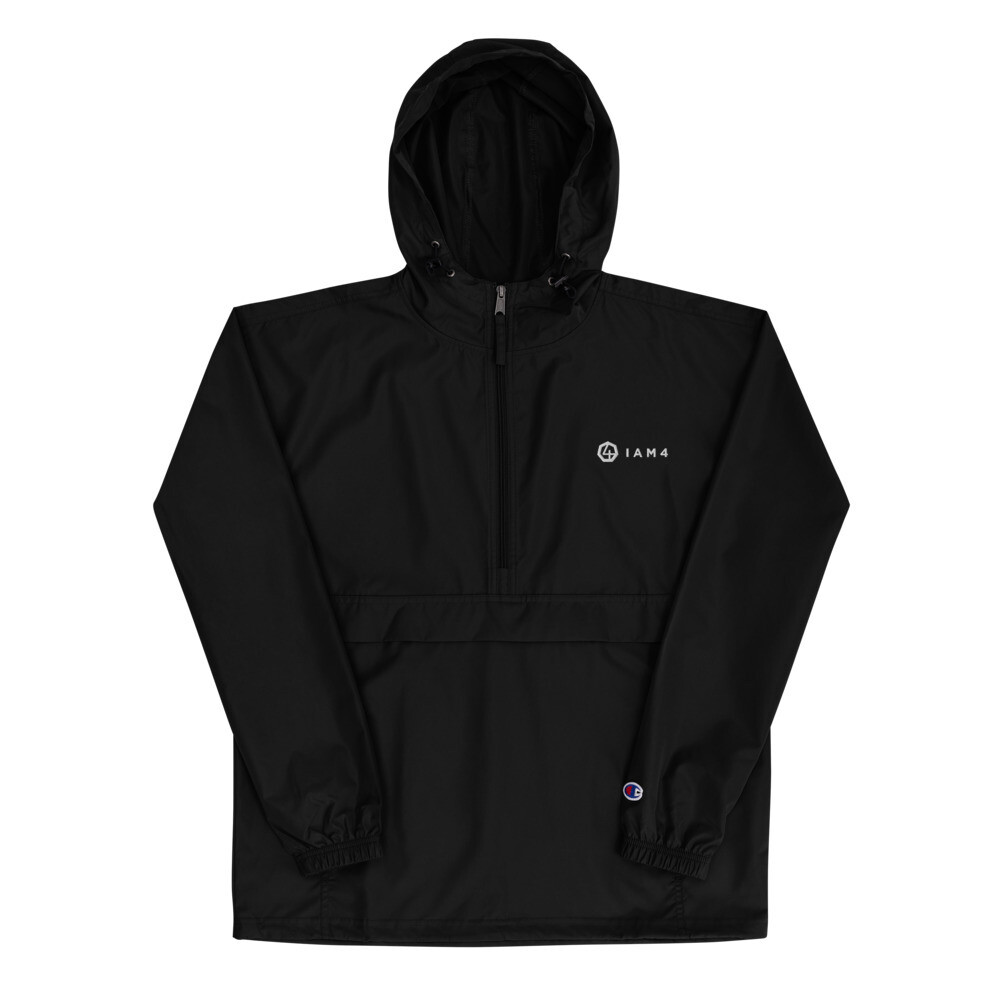 IAM4 Embroidered Champion Packable Jacket
