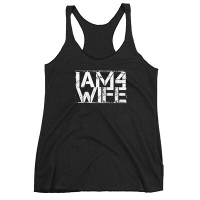 IAM4 Wife - Racerback Tank