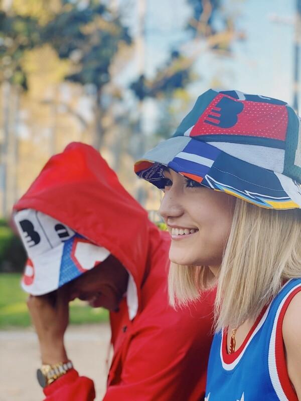 TheBasement Jersey Patchwork Bucket Hats