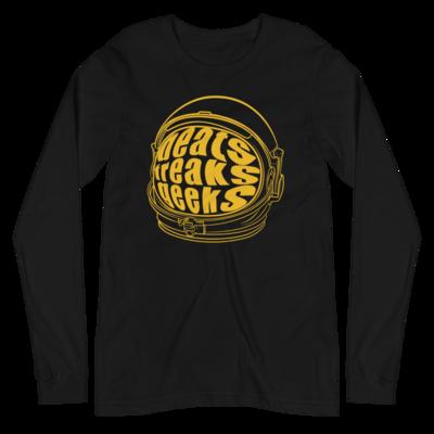BFG Space Cadet Long Sleeve Tee (Black/Gold)