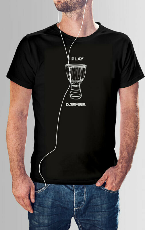 African Djembe Drum - T Shirt Designs Set 2