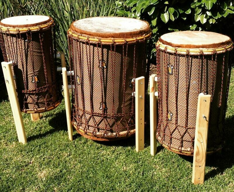 Triple Bass drum Set