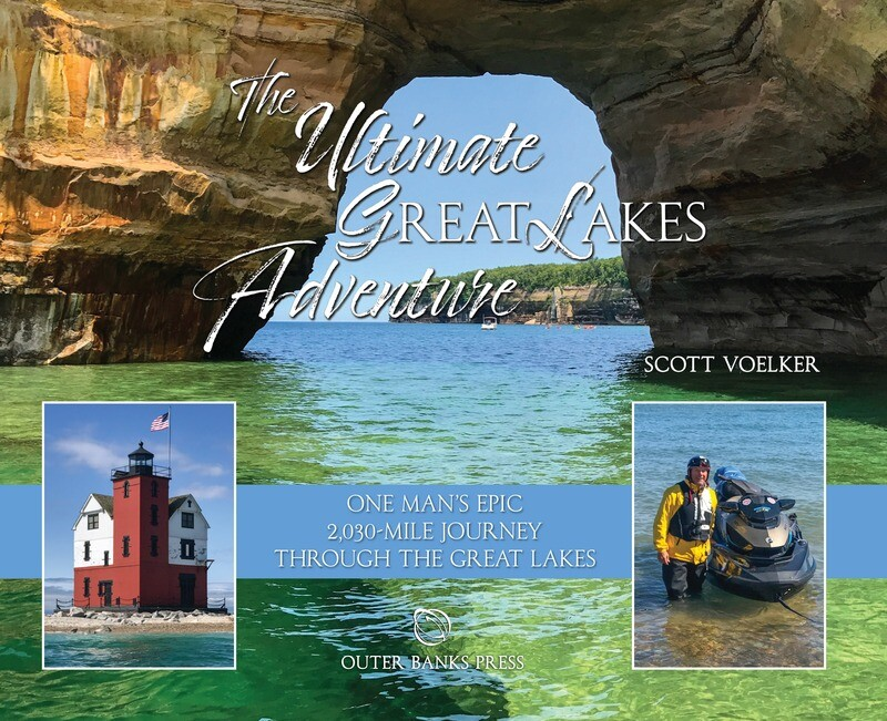 The Ultimate Great Lakes Adventure: One Man's Epic 2,030-Mile Journey Through the Great Lakes