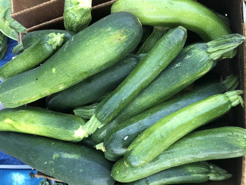 Zucchini, by the pound