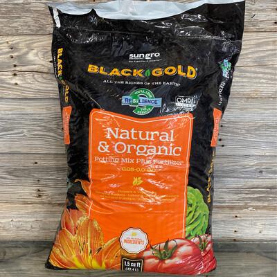Black & Gold Organic Potting Soil, 1.5 cu ft