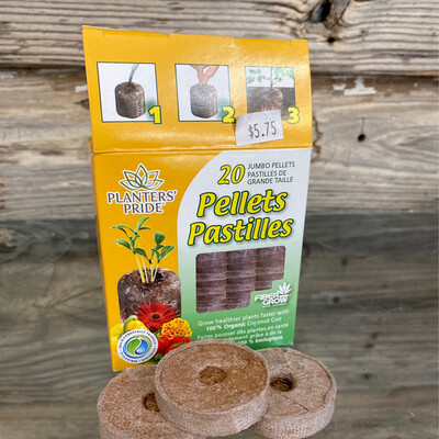 Coconut Coir Pellets