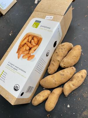 Organic Seed Potatoes 'Rose Finn Apple'