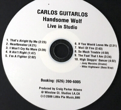 CD-Handsome Wolf  ((Live in Studio))