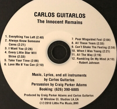 CD-The Innocent Remains  ((All Acoustic))