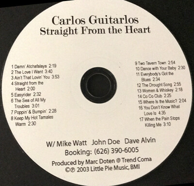 CD-Straight from the Heart