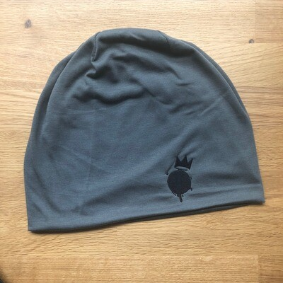 Original Grey King Frog Beanie