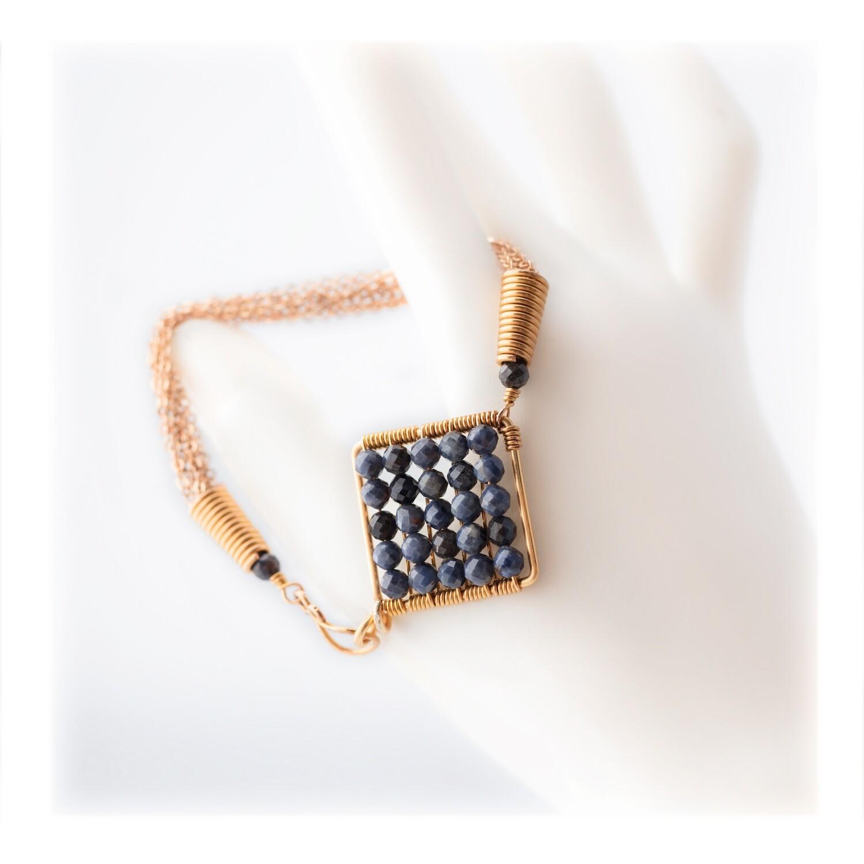 Jazzie Natural Blue Sapphire Bracelet