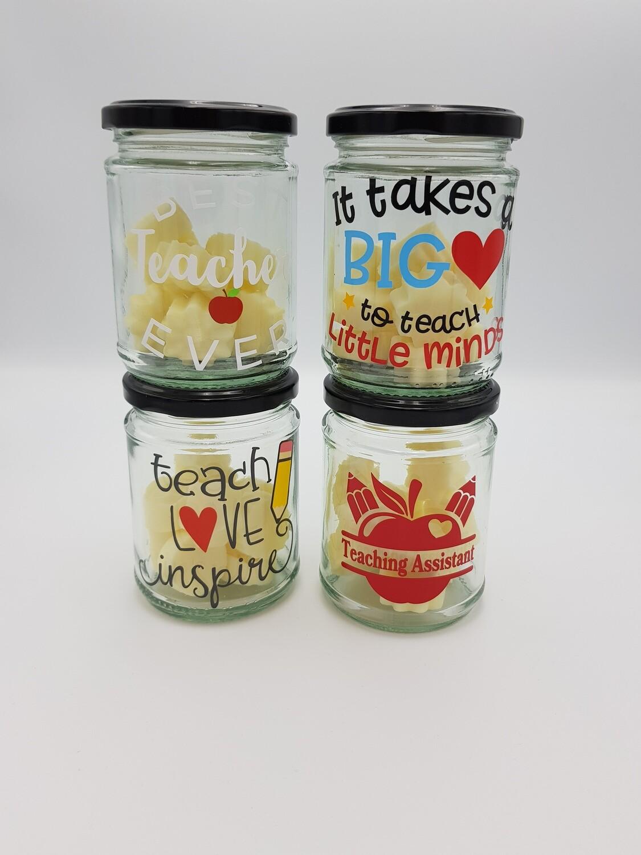 Teacher Jar of Melts