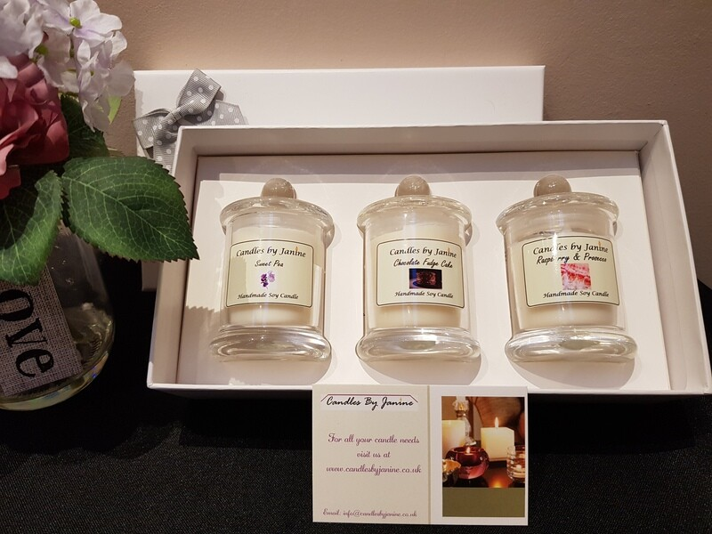Trio Candle Gift Set
