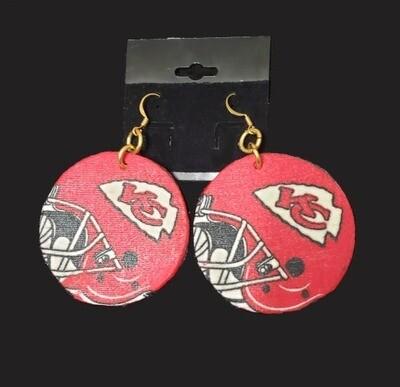 Chiefs Helmet Earrings