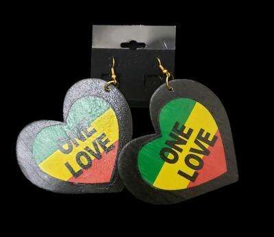 One Love Earrings