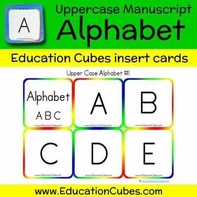 Uppercase Manuscript Alphabet (version 1)