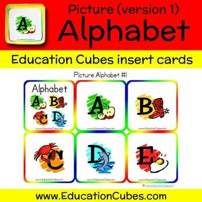 Picture Alphabet (version 1)