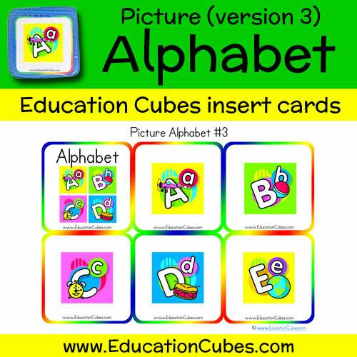Picture Alphabet (version 3)