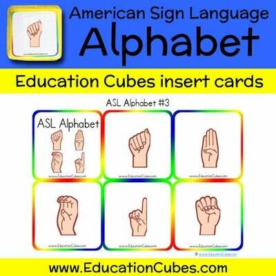 ASL Alphabet (version 3)