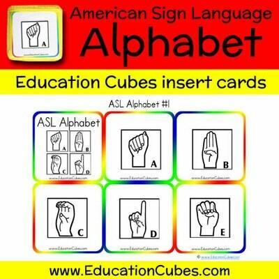 ASL Alphabet (version 1)
