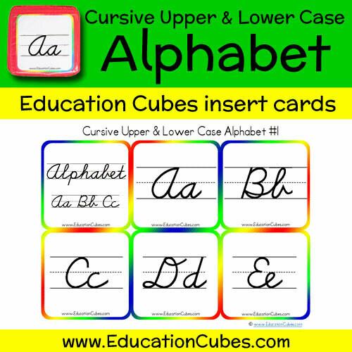 Cursive Upper & Lower Case Alphabet