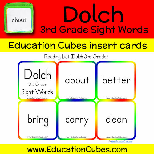 Dolch 3rd Grade Sight Words