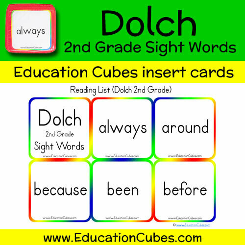 Dolch 2nd Grade Sight Words